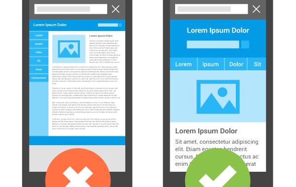Razlika između responsivnog i neresponsivnog dizajna web stranice