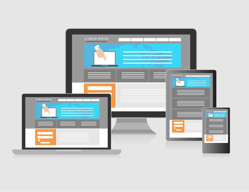 Stranice su responzivne (eng. responsive) ako se prilagođavaju uređaju, odnosno veličini ekrana.